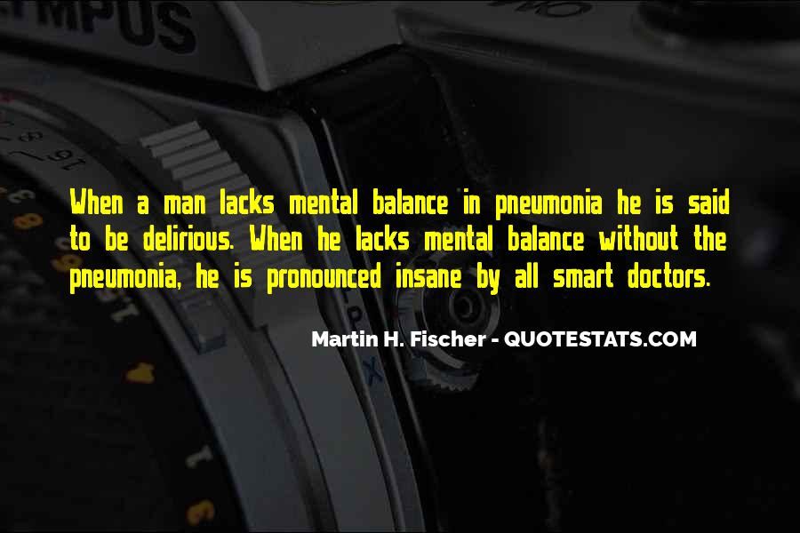 Quotes About Pneumonia #668545