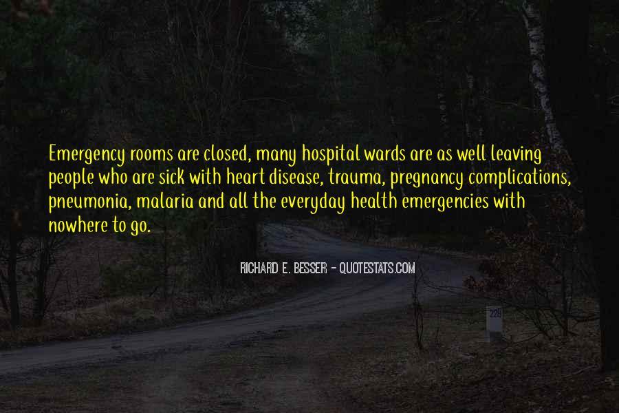 Quotes About Pneumonia #814425