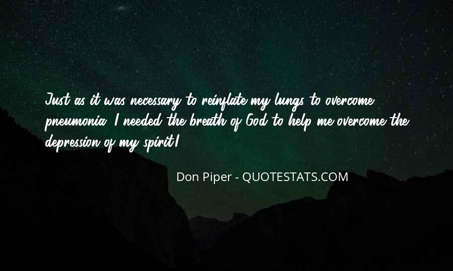 Quotes About Pneumonia #846032