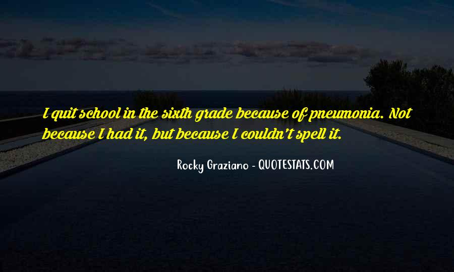 Quotes About Pneumonia #854823