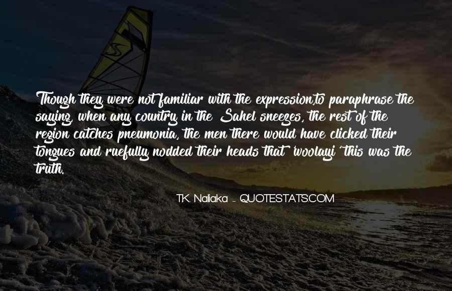 Quotes About Pneumonia #929150