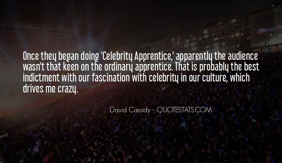 Quotes About Celebrity Culture #1115158