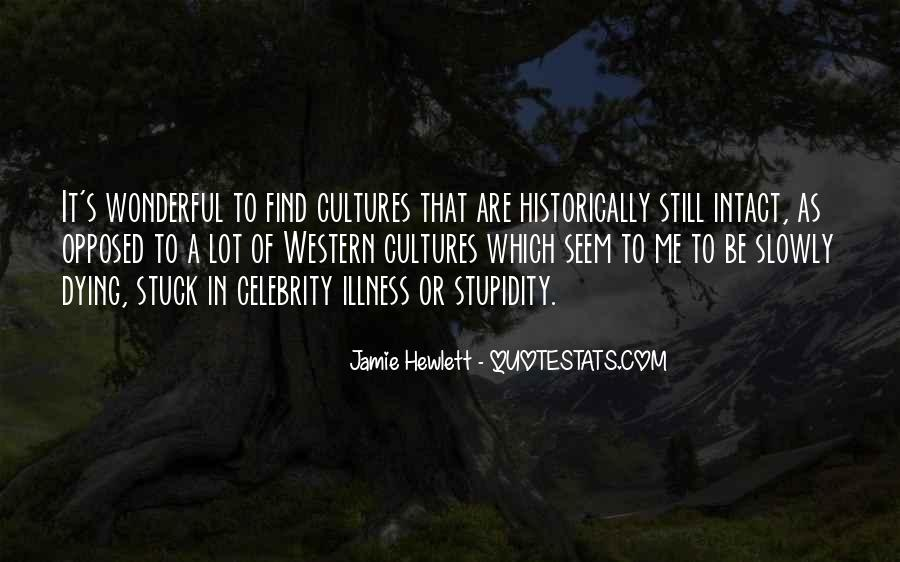 Quotes About Celebrity Culture #1419454