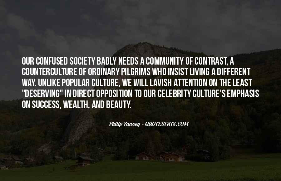 Quotes About Celebrity Culture #1537256