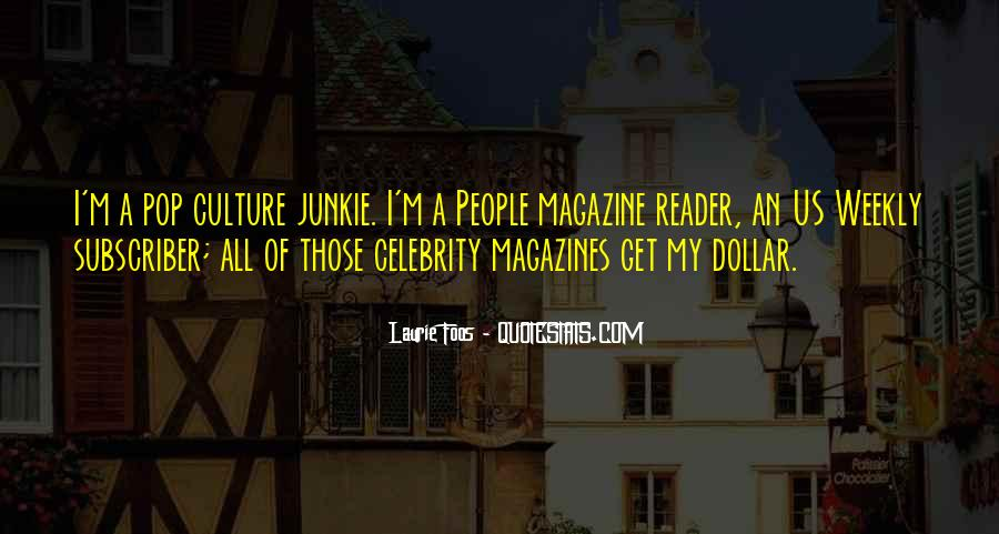 Quotes About Celebrity Culture #213873