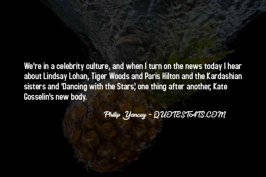 Quotes About Celebrity Culture #911520