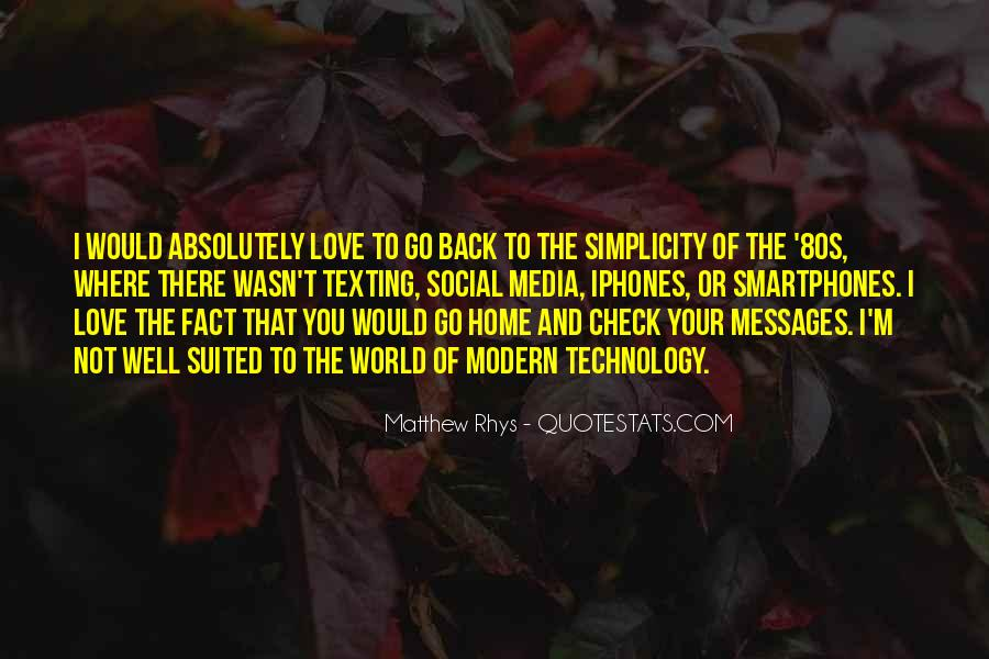 Quotes About Simplicity And Love #1839767