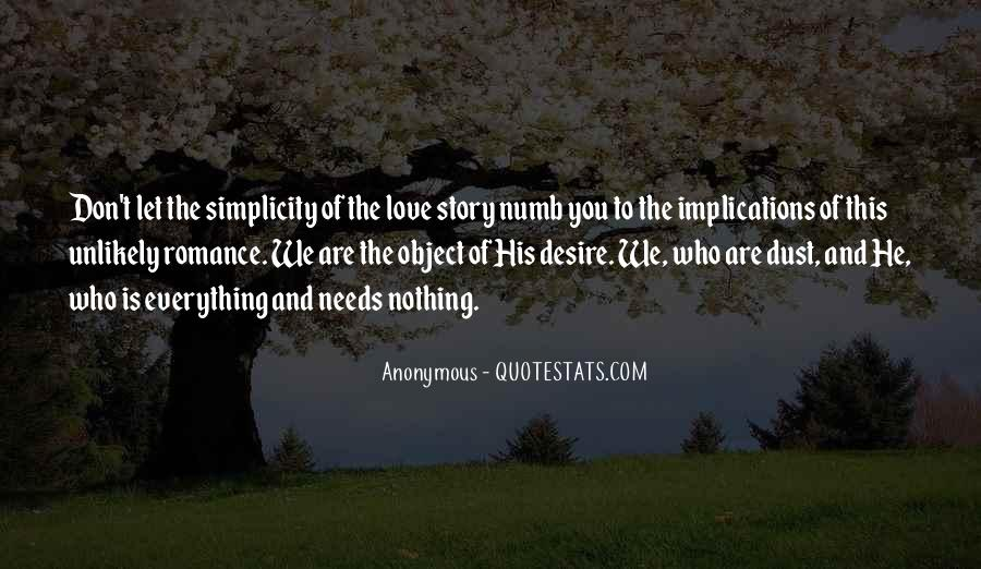 Quotes About Simplicity And Love #921478