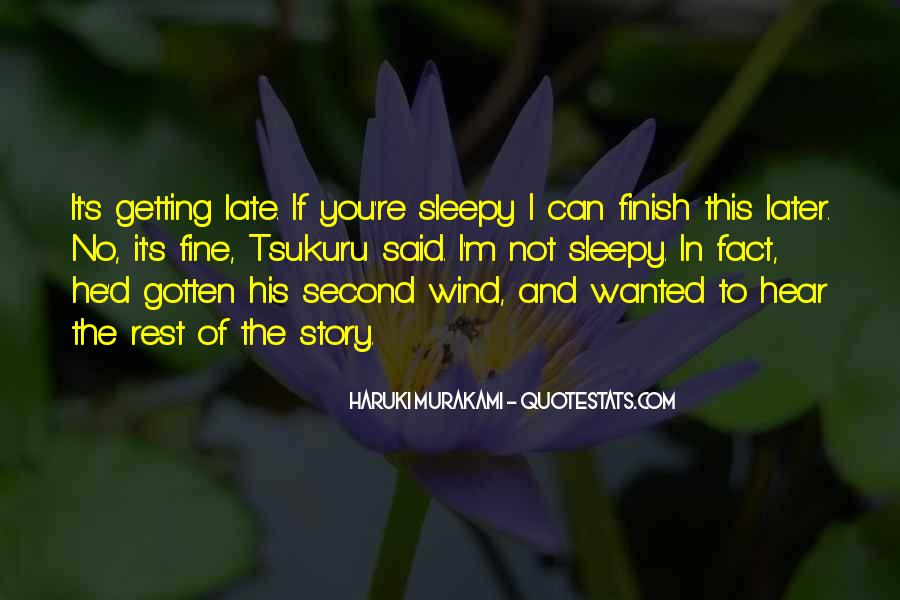 Quotes About Getting A Second Wind #1858419