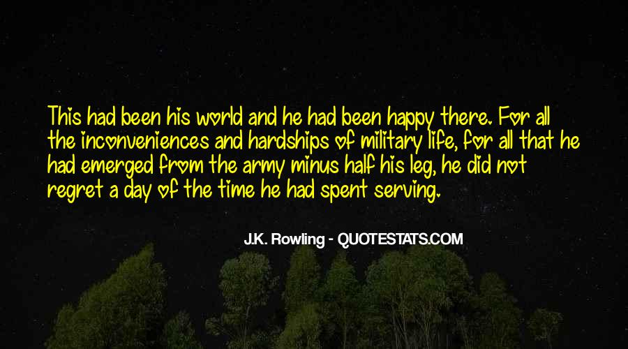 Quotes About Serving In The Army #1562214