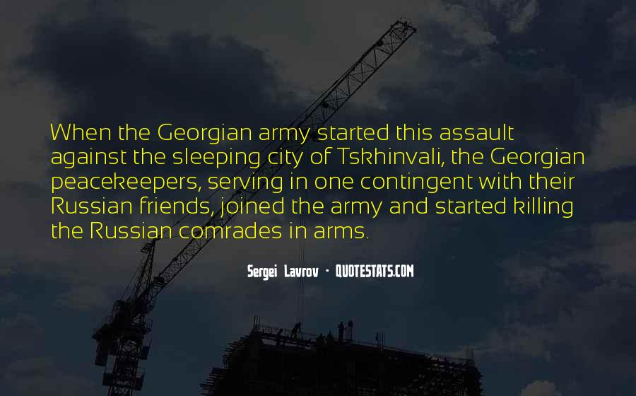 Quotes About Serving In The Army #508390