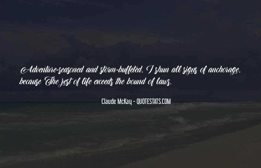 Quotes About A Zest For Life #1145781