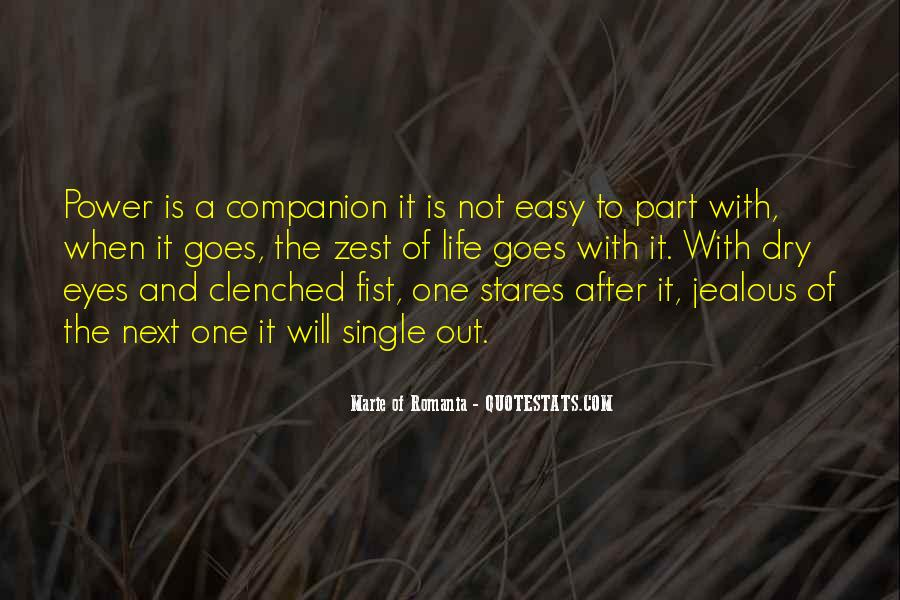 Quotes About A Zest For Life #1210860