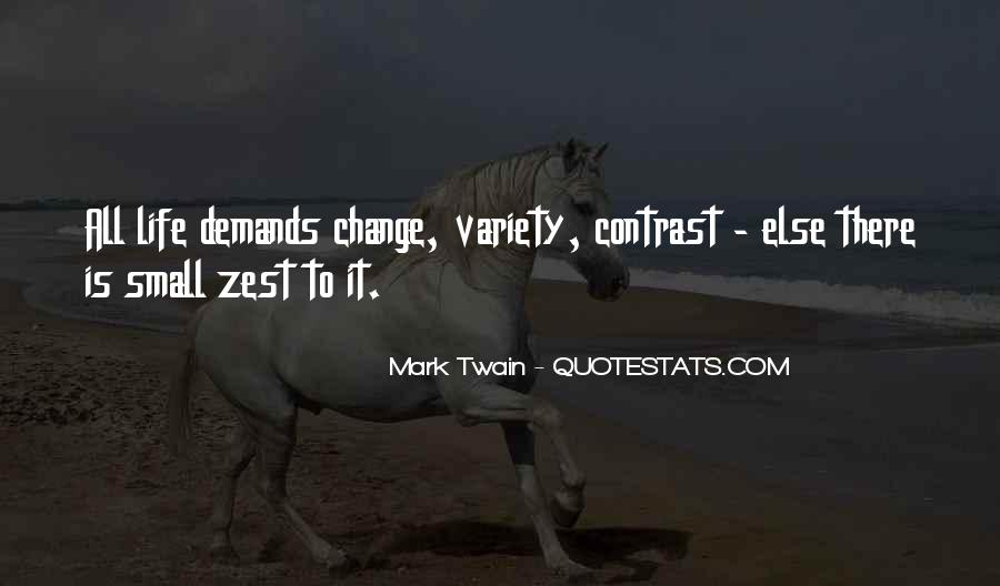 Quotes About A Zest For Life #1682757