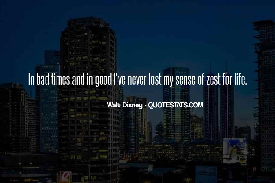 Quotes About A Zest For Life #1703671