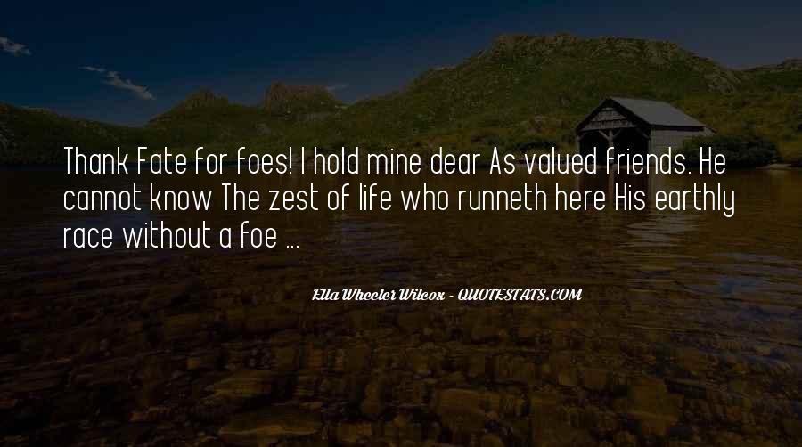 Quotes About A Zest For Life #1711909