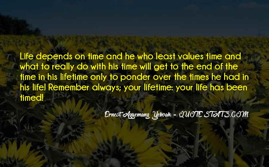 Quotes About Opportunities Of A Lifetime #915239