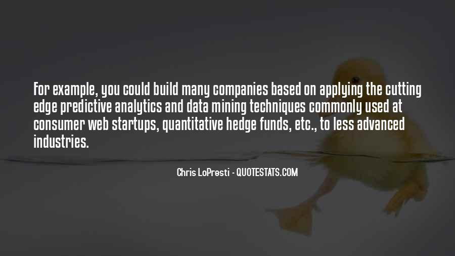 Quotes About Hedge Funds #1483370