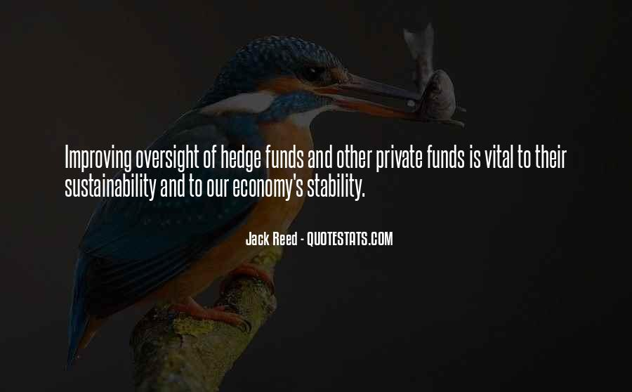 Quotes About Hedge Funds #1769690