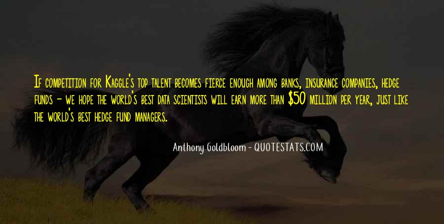 Quotes About Hedge Funds #524475