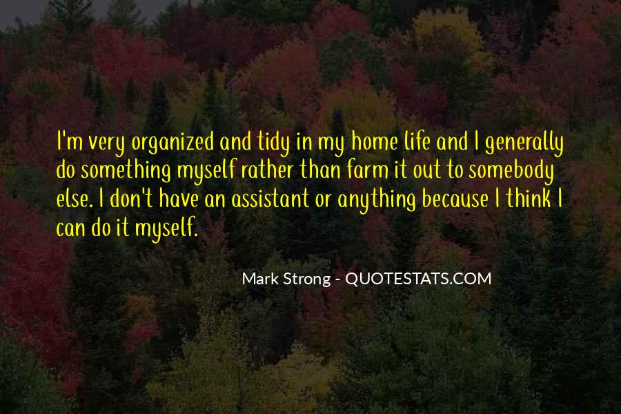 Quotes About A Tidy Home #35112