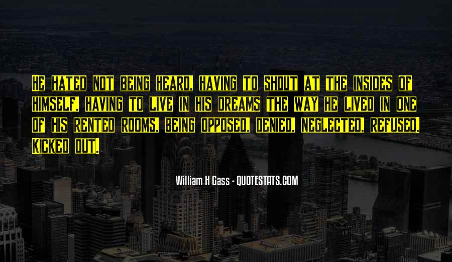 Quotes About Being Kicked Out #1572912