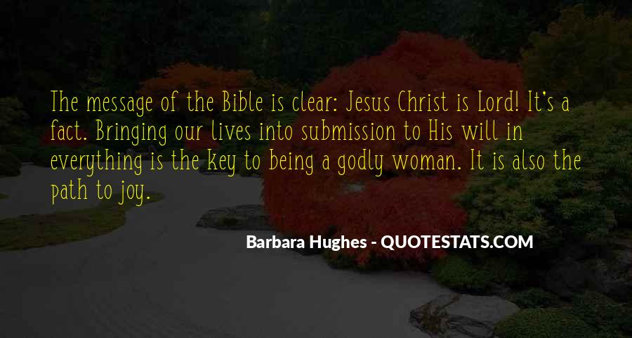 Quotes About Godly Woman #1003235