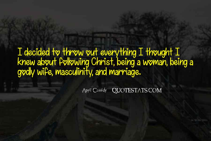 Quotes About Godly Woman #305927