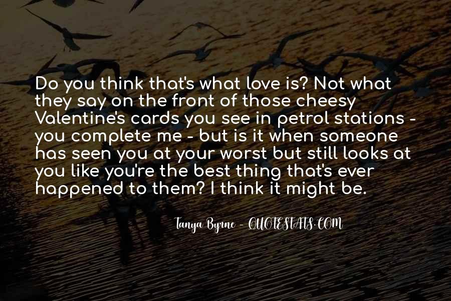 Quotes About Cheesy Love #1617510