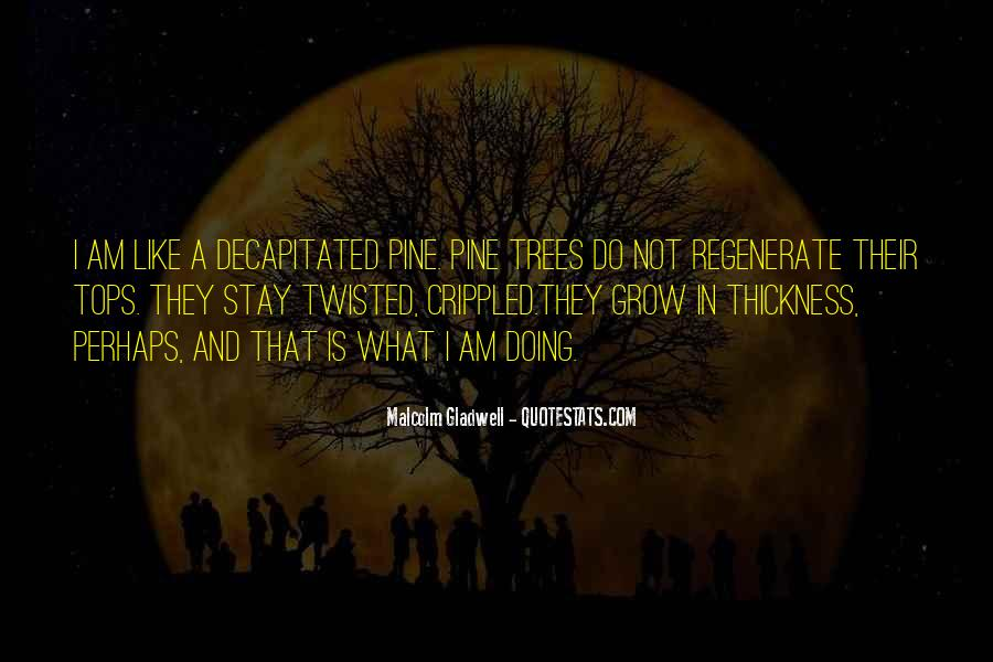 Quotes About Twisted Trees #1321887