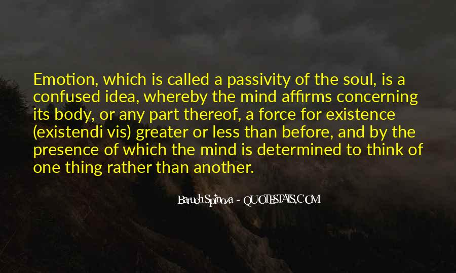 Quotes About Mind Over Emotion #255312