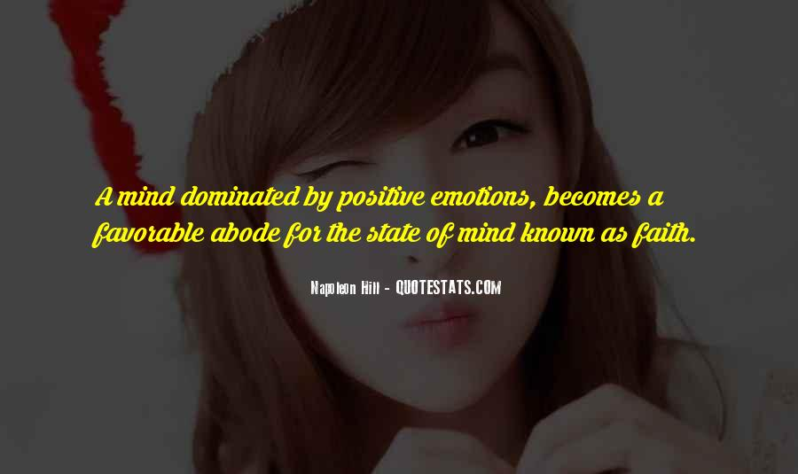 Quotes About Mind Over Emotion #381020