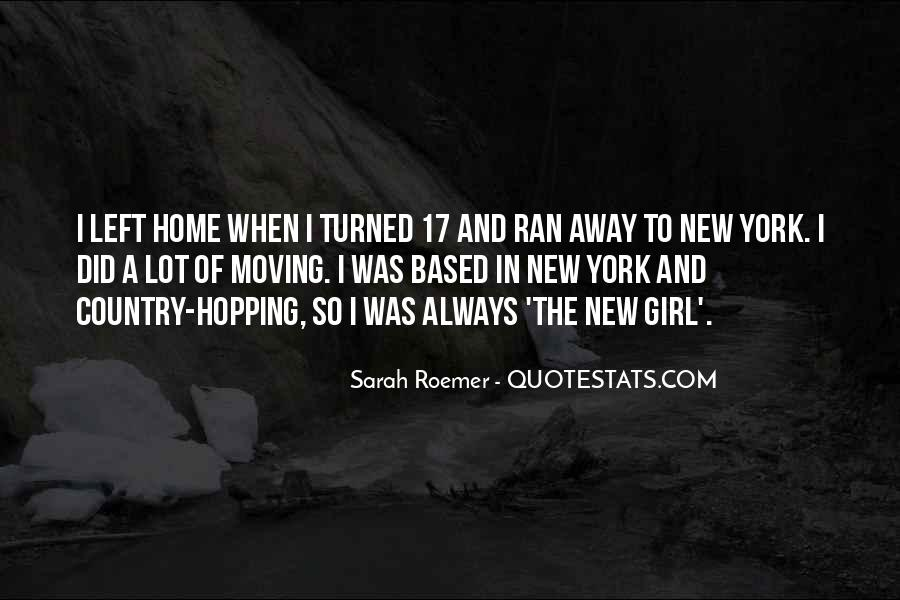 Quotes About Moving Into New Home #92092