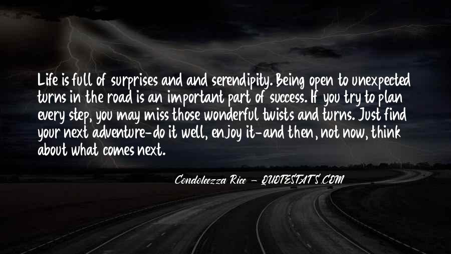 Quotes About Life's Unexpected Surprises #1032444