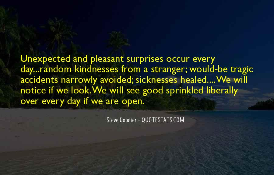 Quotes About Life's Unexpected Surprises #1107583