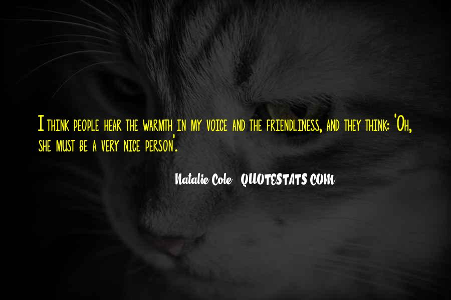 Quotes About A Nice Voice #1046756