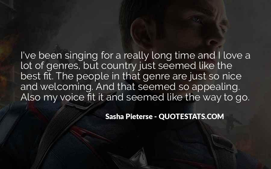 Quotes About A Nice Voice #1115963