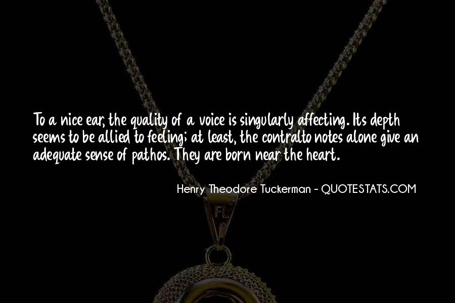 Quotes About A Nice Voice #1269503