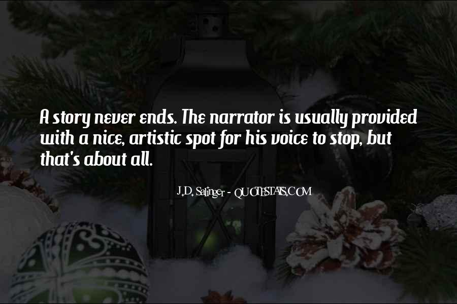Quotes About A Nice Voice #1824925