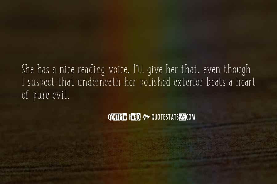 Quotes About A Nice Voice #184631