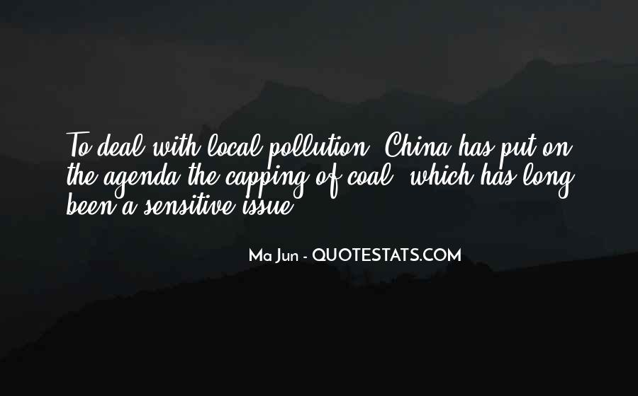 Quotes About Pollution In China #1004084