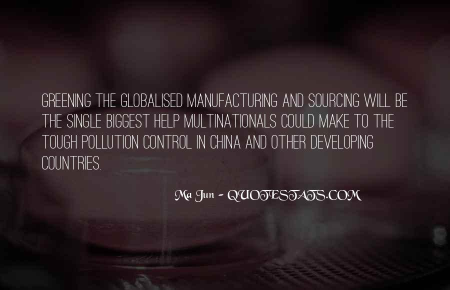 Quotes About Pollution In China #1670256