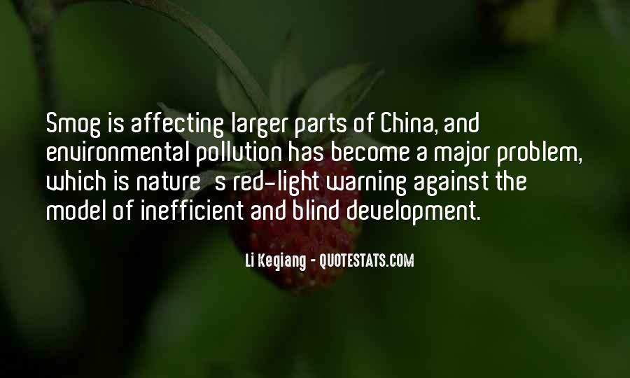 Quotes About Pollution In China #1731818