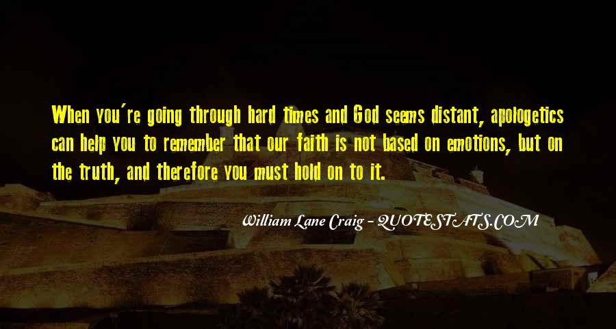 Quotes About God And Hard Times #143628