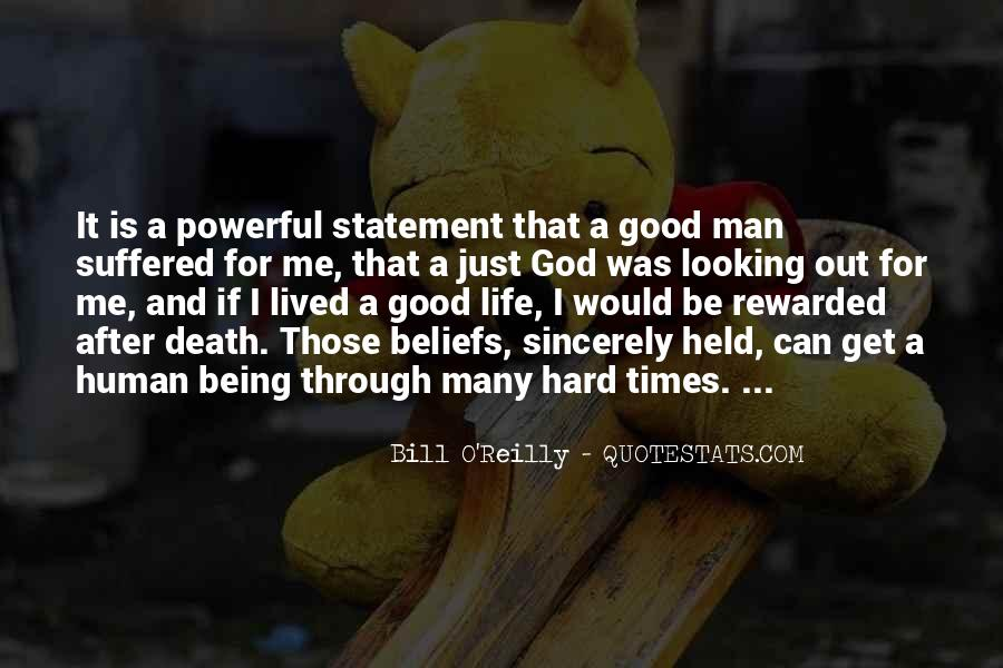 Quotes About God And Hard Times #1506923