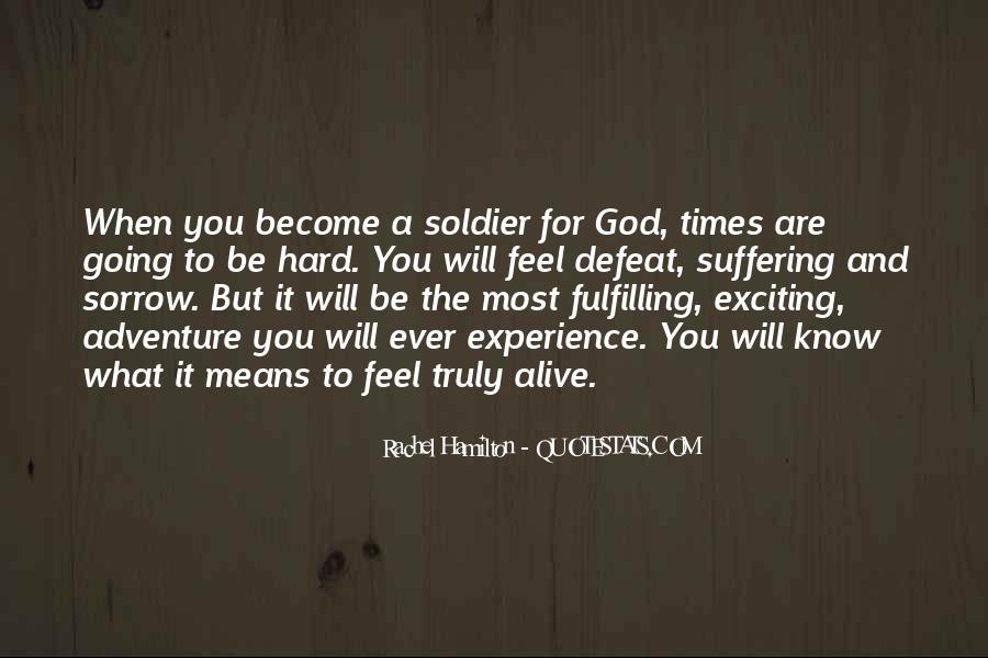 Quotes About God And Hard Times #1605575