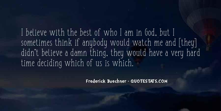 Quotes About God And Hard Times #1616463