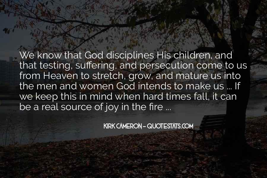 Quotes About God And Hard Times #764221