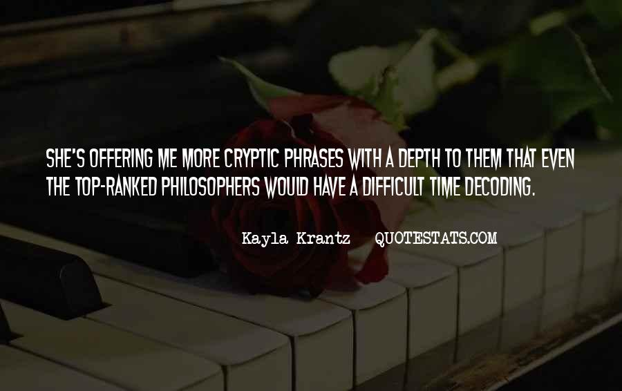 Quotes About Kayla #1155663