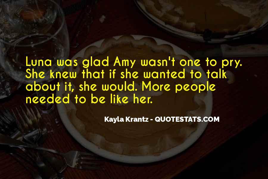 Quotes About Kayla #489034